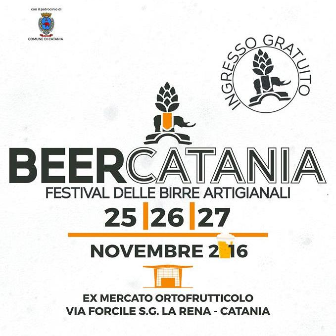 BEERCATANIA 2016, torna il festival della birra artigianale