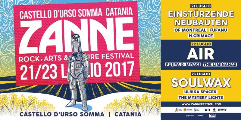 Zanne Festival Giveaway: in palio 3 abbonamenti!