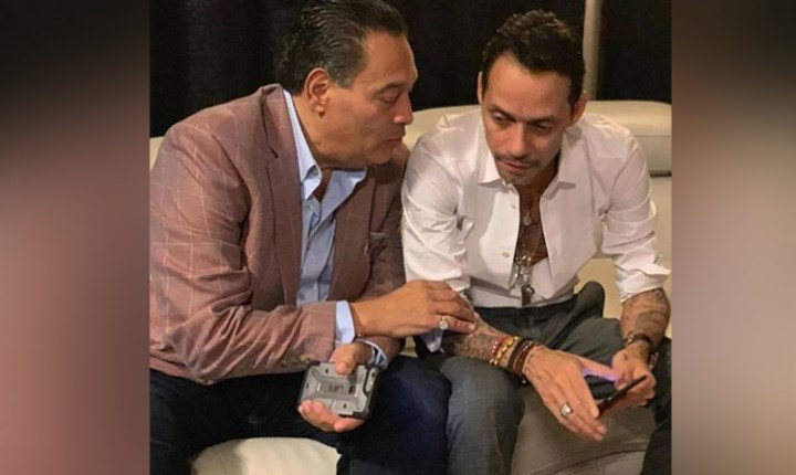 Marc Anthony y sus emotivas palabras para Tito Nieves