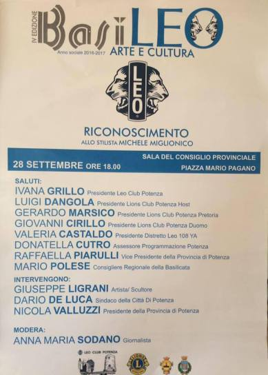 Locandina Leo Club