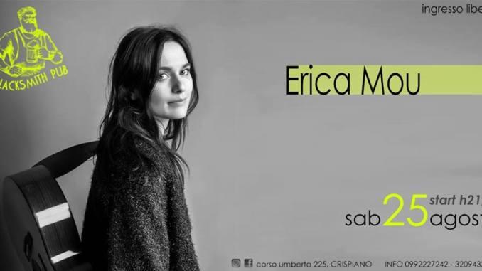 Vasca Da Bagno Erica.Erica Mou In Concerto A Crispiano Radio Laser