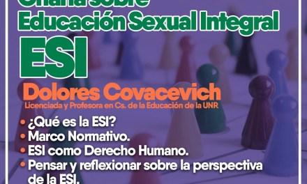 Charla sobre Educación Sexual Integral (ESI)