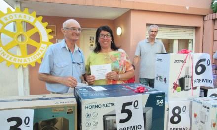 Rotary entregó los premios a los ganadores del Bono