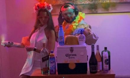Las Rosas: Realizaron una fiesta de casamiento en modo virtual
