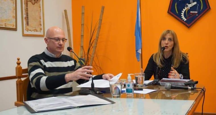 Diversos temas se trataron en la sesión del Concejo