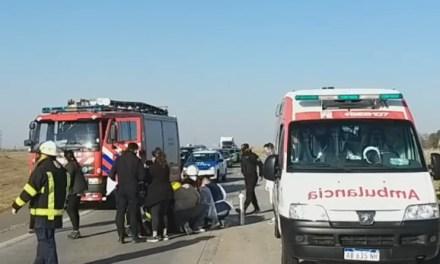 En el parte policial del accidente ayer en autopista hay otro motociclista involucrado