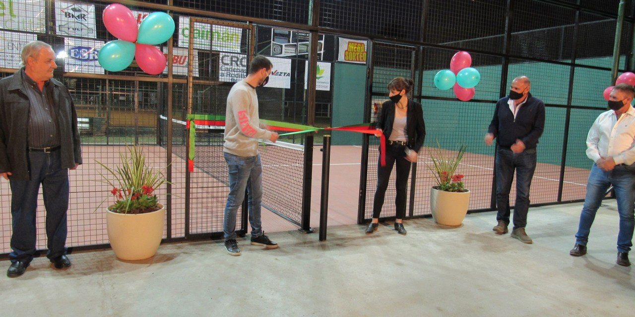 Sportivo inauguró su segunda cancha de Paddle