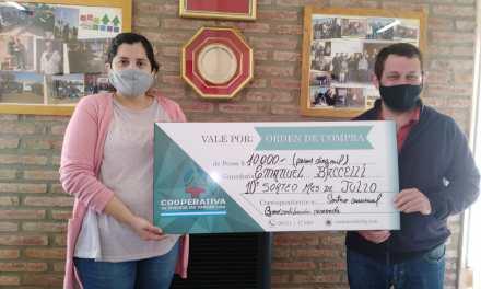 Cooperativa de Viviendas entregó un nuevo premio