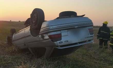 Dos heridos por un accidente en ruta a Bouquet