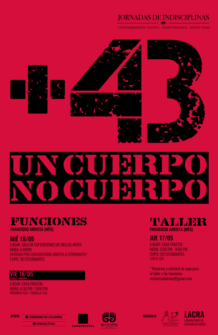 Polifonía Amorosa Por Los Desaparecidos En Memoria a los Estudiantes de Ayotzinapa - Un-Cuerpo-No-Cuerpo-195x300