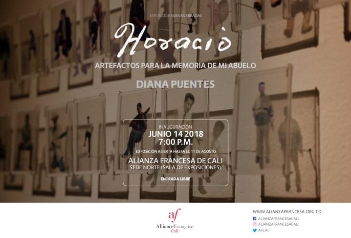 Exposición: Horacio – artefactos para la memoria de mi abuelo de la artista Diana Puentes - Diana-Puentes001e-300x203