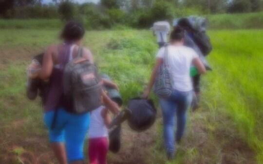 Más de 400 indígenas desplazados y crisis humanitaria por operaciones armadas de grupos neoparamilitares y del ELN en Jiguamiandó - IMG_20180522_052138