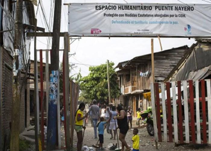 Neoparamilitares de las AGC pretenden retomar el control en el Espacio Humanitario de Puente Nayero - Neoparamilitares-irrumpen-en-actividad-comunitaria-dentro-de-EH-Puente-Nayero-1