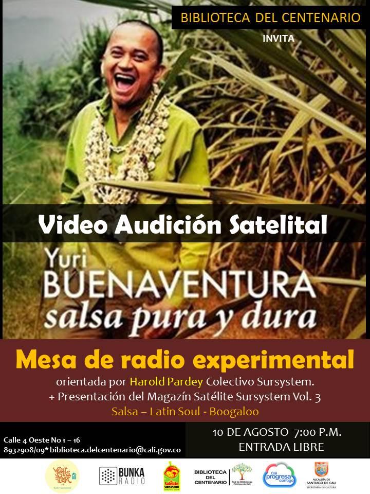 VIDEO AUDICION YURI BUENAVENTURA - AUDICIÓN-YURI-BUENAVENTURA
