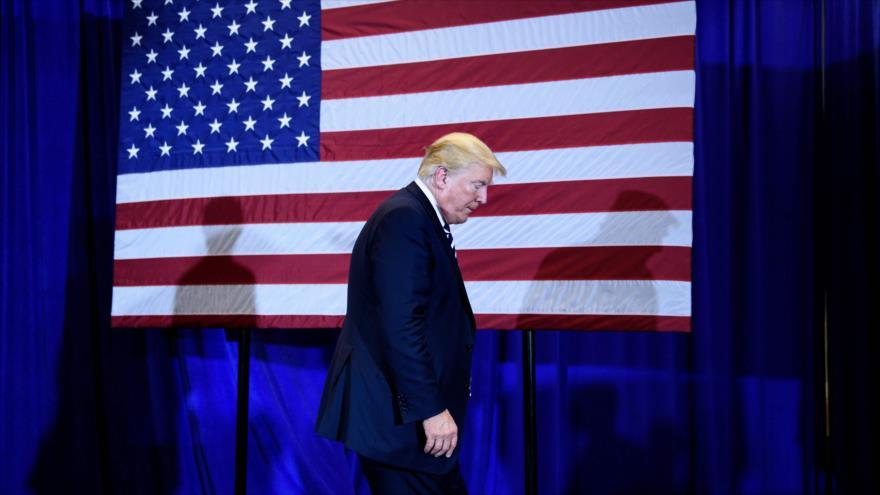60% de EEUU desaprueba la gestión de 'animal herido' de Trump - trump