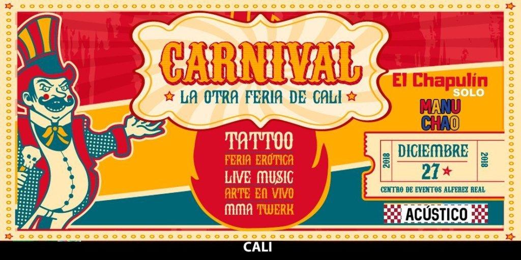 El Chapulín solo.  Manu Chao acústico en Cárnival la otra Feria de Cali - 852_1acarnival-1024x512