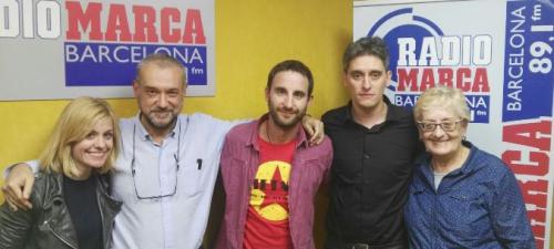 Mañana en la La Claqueta Dani Rovira, Alexandra Jimenez y Marcel Barrena presentan 100 METROS