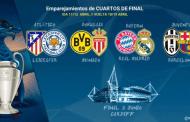 Así han quedado los cuartos de Champions League