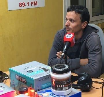El ragatista Dídac Costa visita el Tribuna Marca radiomarcabcn