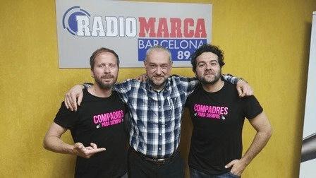 """""""LOS COMPADRES"""" en LA CLAQUETA, del domingo radiomarcabcn"""
