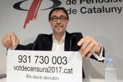 """Benedito en La Ronda: """"Pretendemos que Bartomeu acabe dimitiendo"""""""
