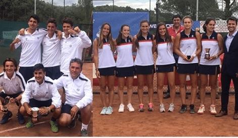 Wimbledon, campeonato de España Alevín y campeonato de España por equipos cadetes en Pista 8 radiomarcabcn