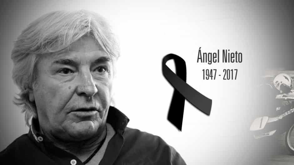 Muere Ángel Nieto, una leyenda del deporte español