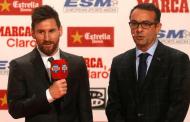 Messi iguala a Cristiano Ronaldo en el palmarés del galardón de la #BotaDeOro