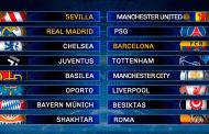 Un sorteo de miedo: ¡Real Madrid-PSG, Chelsea-Barça y Sevilla-United!