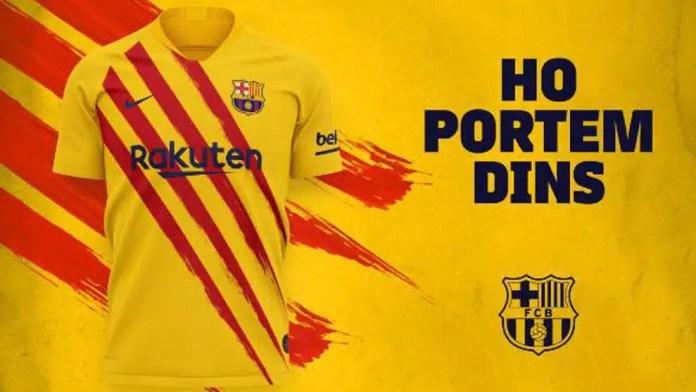 Equipación Barça