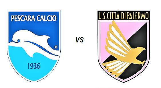 Serie B: Finisce 2-2 tra Pescara e Palermo