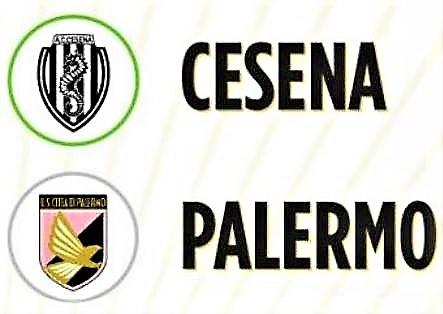 Cesena e Palermo si spartiscono il bottino