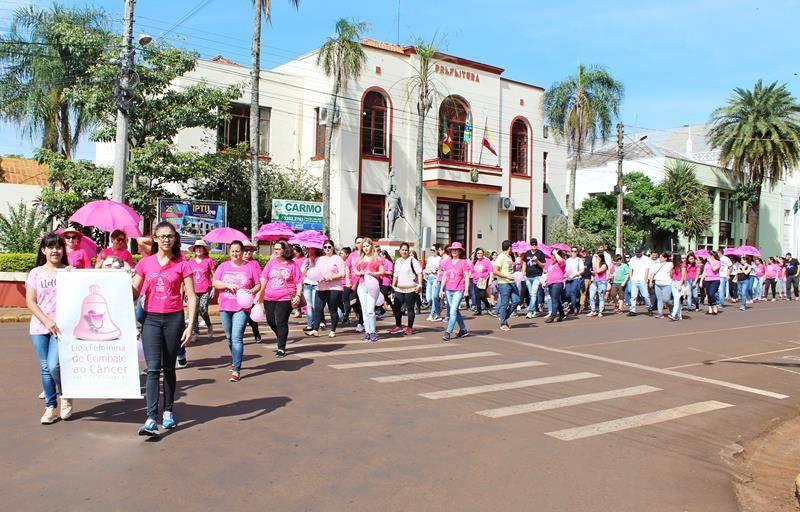 Caminhada em São Luiz Gonzaga chamou atenção para prevenção do câncer