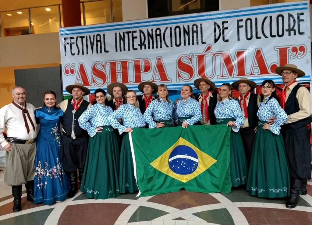CTG Sentinelas, de Roque, se apresenta em festival internacional