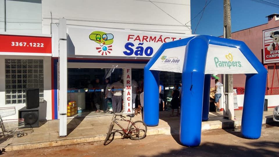 Inaugurada a farmácia São João em Santo Antônio das Missões