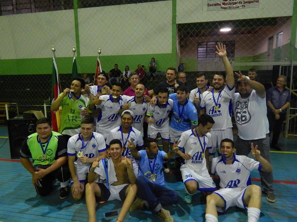 Roque Gonzales realizou final do Campeonato Municipal de Futsal