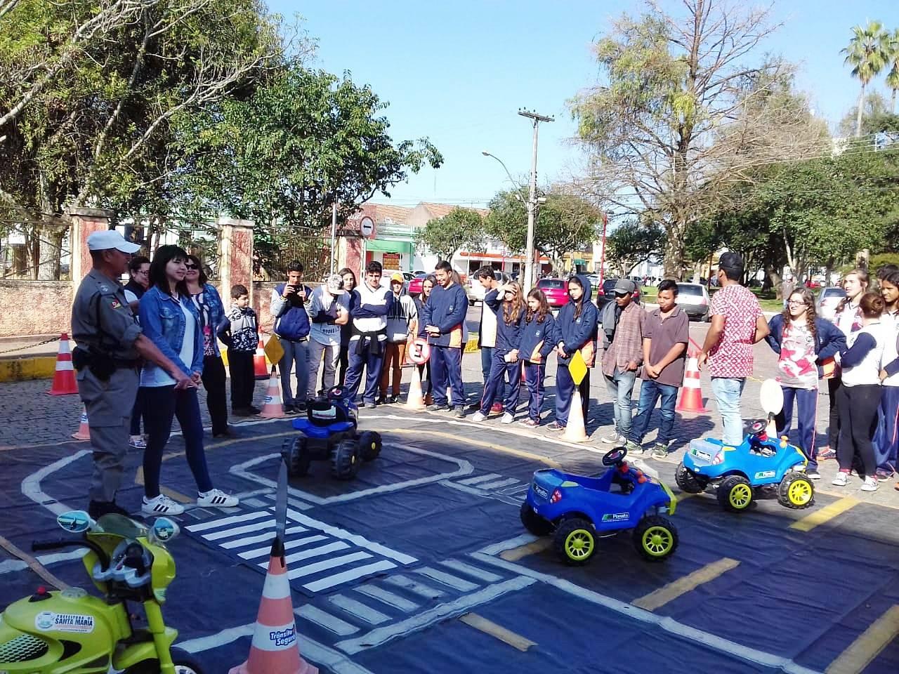 Escolinha de Trânsito ABC promove atividades em São Luiz Gonzaga nesta quinta e sexta-feira