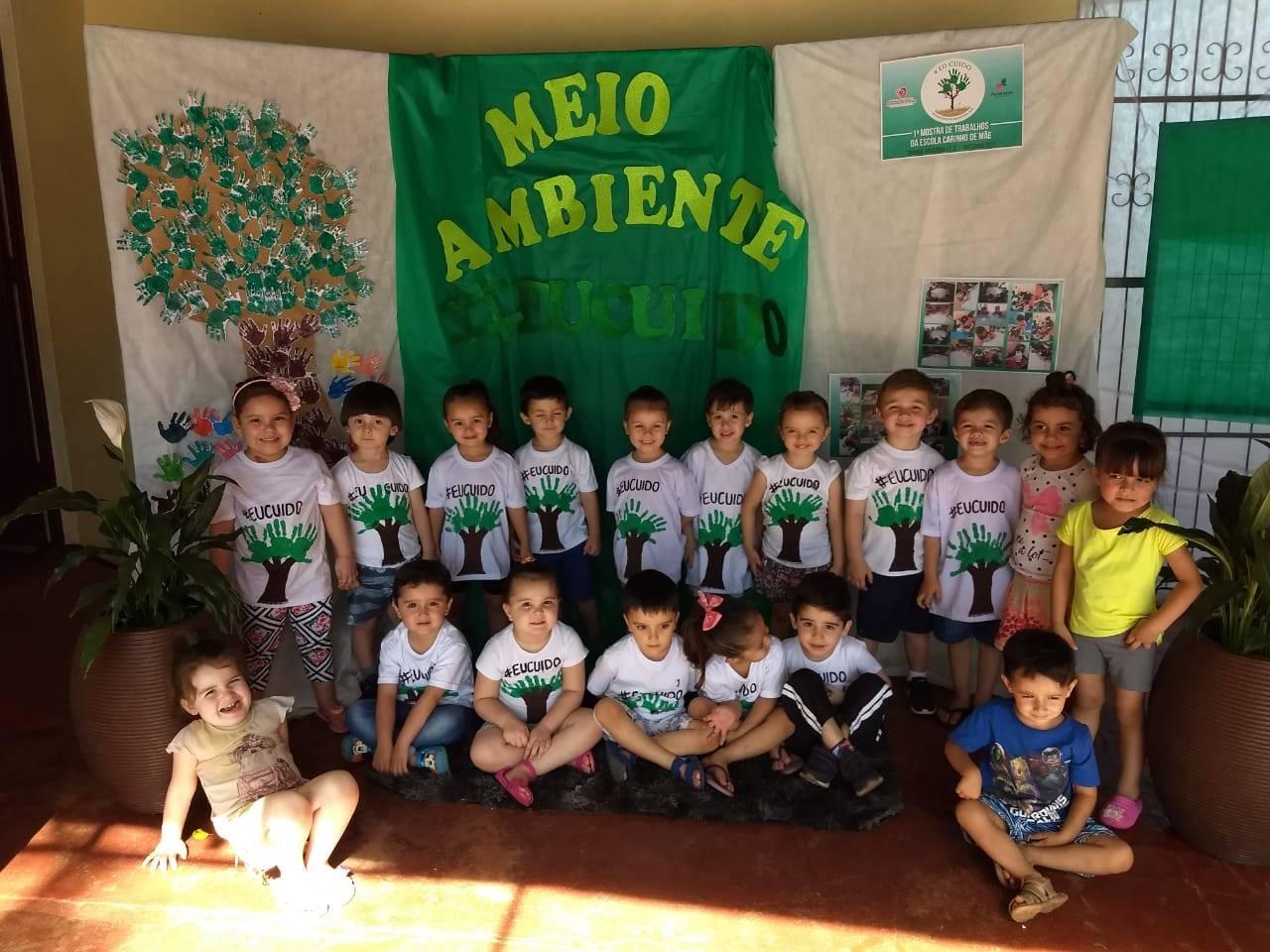 Escola Carinho de Mãe realizou mostra de trabalhos sobre meio ambiente
