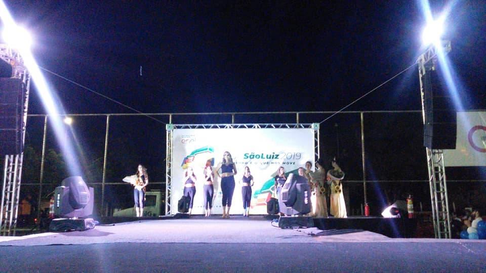 Mylena, Fernanda e Mariana são as novas soberanas da Expo São Luiz