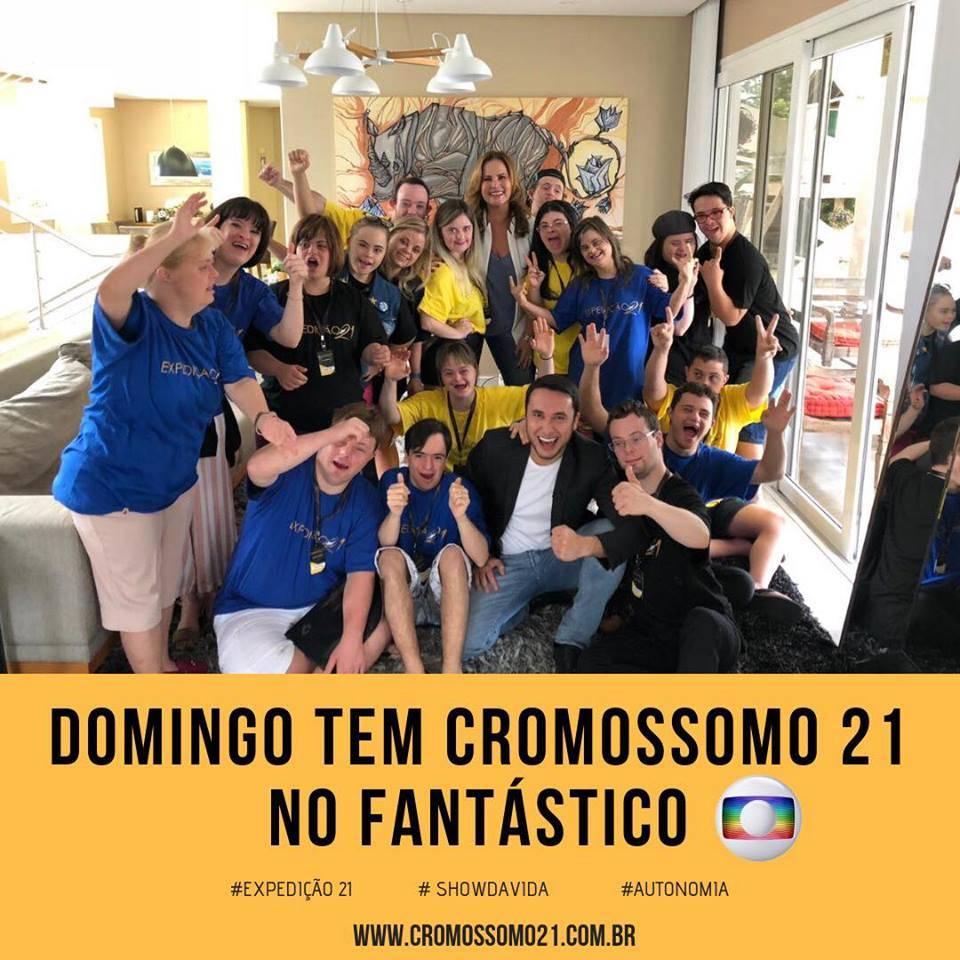 Novo projeto do filme Cromossomo 21 será destaque hoje no Fantástico