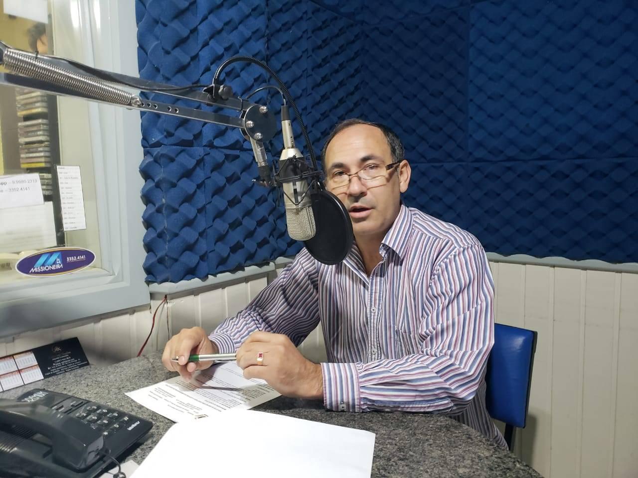 Presidente da Câmara de Vereadores de São Luiz Gonzaga comenta sobre sessão da semana