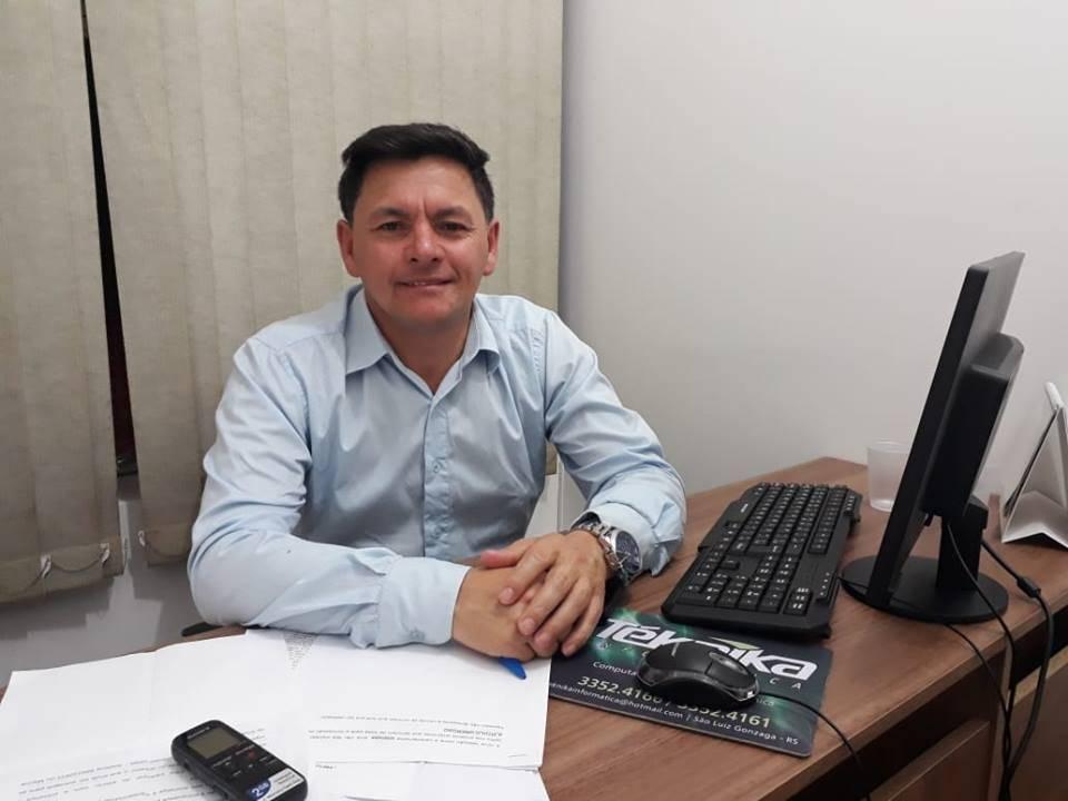 Vereador de Bossoroca comenta sobre festa solidária para crianças carentes