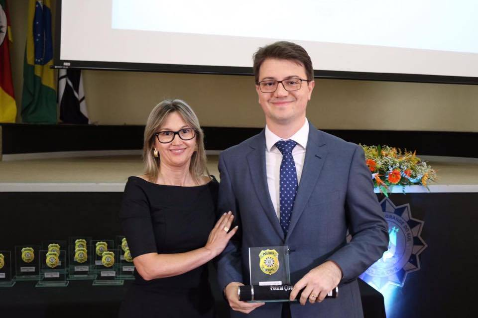 Promotor de justiça que atua em São Luiz recebe homenagem da Polícia Civil