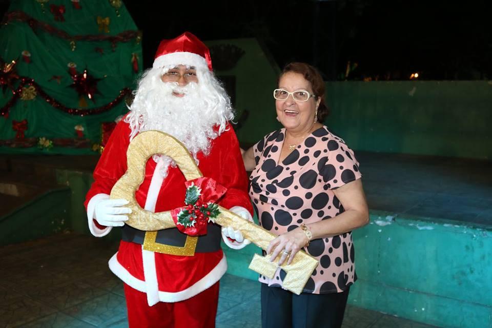 Papai Noel chegou em Santo Antônio das Missões