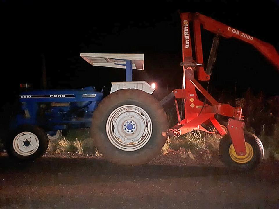 Tratorista embriagado e sem habilitação provoca acidente na BR 285