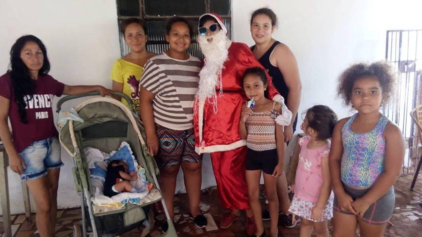 Festas para crianças carentes mostram que São Luiz Gonzaga tem povo solidário