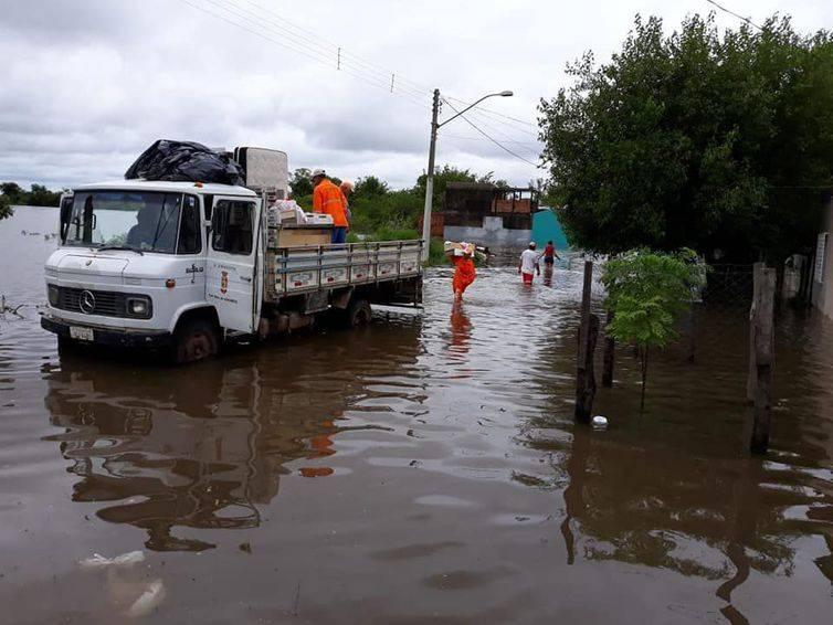 São Luiz Gonzaga tem ponto de recolhimento de doações para afetados pela enchente