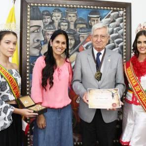 Entrega da honraria ao vereador de Porto Alegre, João Carlos Nedel