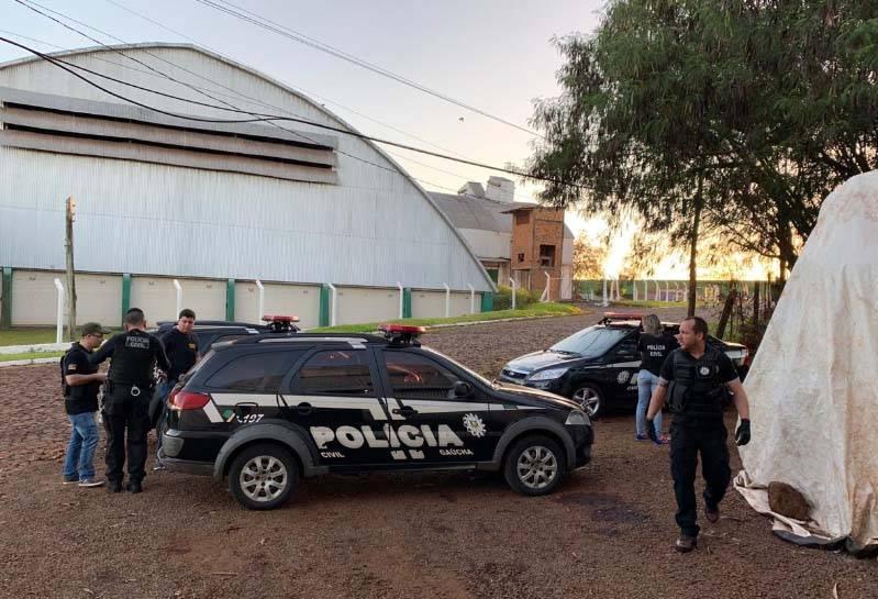Polícia Civil cumpre seis ordens judiciais de busca e apreensão em São Luiz Gonzaga