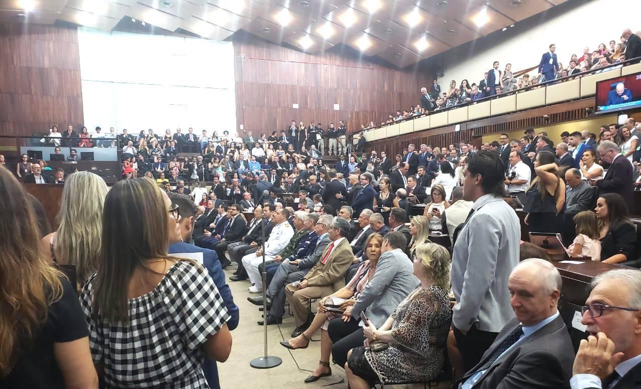 Na posse da 55ª Legislatura na Assembleia, deputados falam sobre novos e atuais desafios